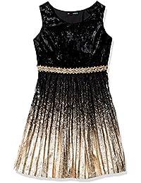 Big Girls' Velvet Party Dress