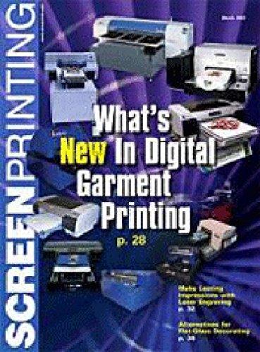 Screen Printing Magazine PDF
