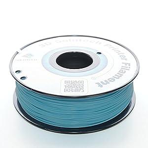 3D Solutech Teal Blue 1.75mm 3D Printer PLA Filament 2.2 LBS (1.0KG) - 100% USA from 3D Solutech