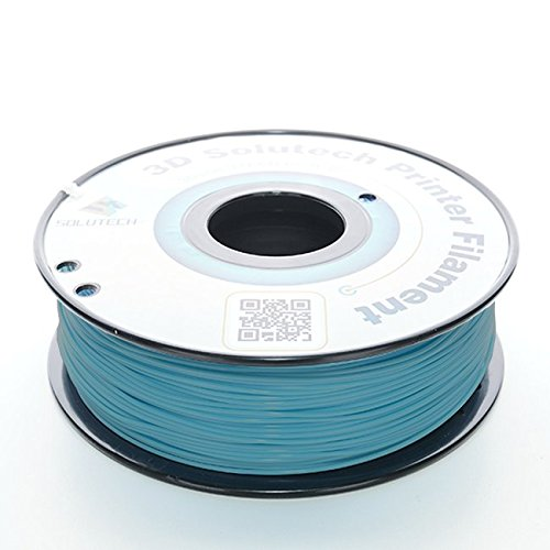 3D Solutech Printer Filament, Teal Blue PLA, 1.75MM Filament, Dimensional Accuracy +/- 0.03 mm, 2.2 LBS (1.0KG) - 100% USA Plastic Filament