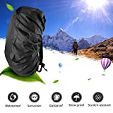 ONSON Backpack Rain Cover, Nylon Waterproof Backpack Rain Cover,Water-resistant Backpack Rucksack Bag Rain Cover,Rucksack Water Protector Cover (Adjustable) for Hiking,Camping,Climbing,Cycling-BT01
