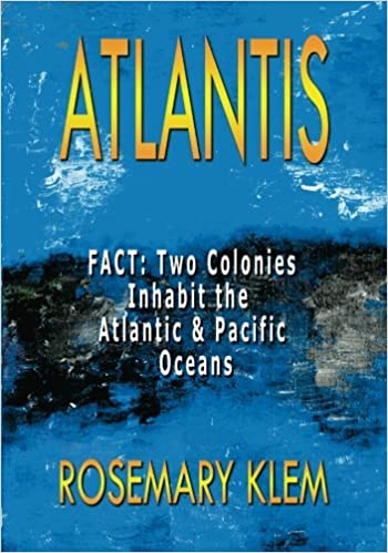 Amazon atlantis fact two colonies inhabit the atlantic amazon atlantis fact two colonies inhabit the atlantic pacific oceans 9780987116727 rosemary klem books sciox Gallery