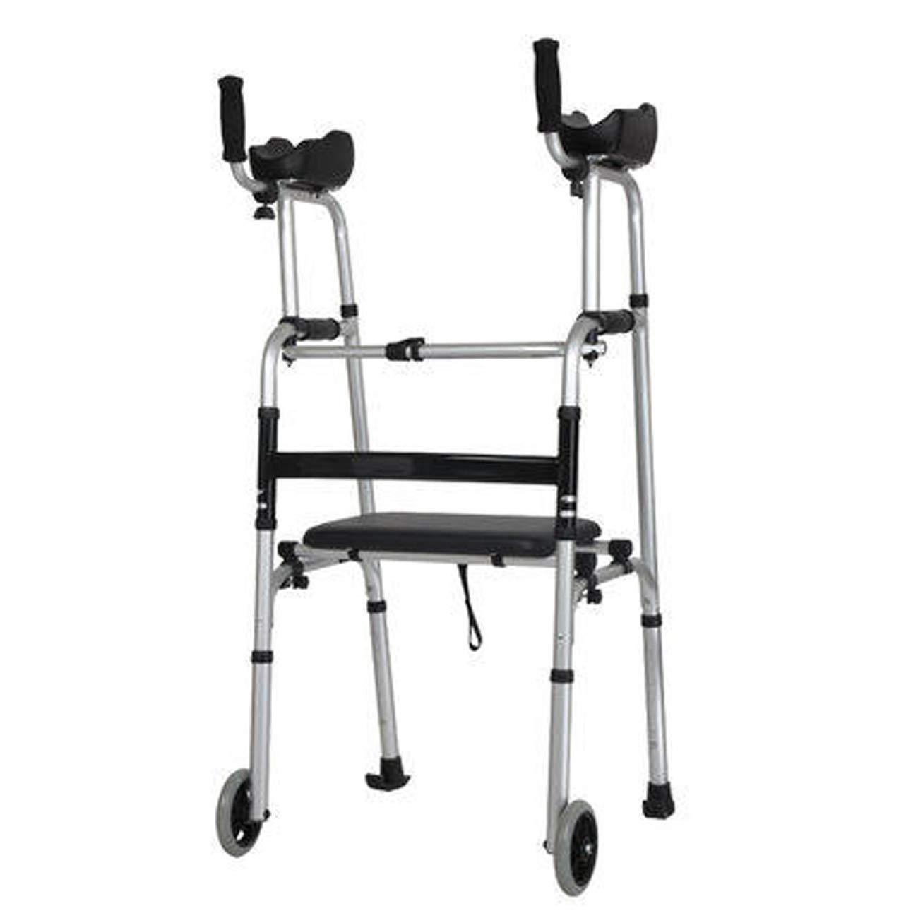 激安価格の 高齢者の歩行器、アルミニウム合金の歩行の歩行器 :、2つのキャスターを運ぶスキーパッド補助歩行器 B) (設計 B : B) B B07L2LHQCV, ecoloco(エコロコ):6017e09a --- a0267596.xsph.ru