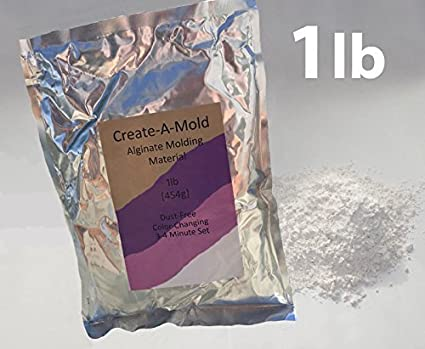 89a240005489 Casting Keepsakes 1Lb (454G) Create-A-Mold Alginate Molding Powder Life  Casting Impression Material  Amazon.in  Health   Personal Care