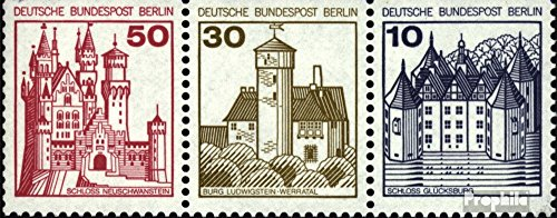 - Berlin (West) W63 1977 Fortresses and Castles (Stamps for Collectors)