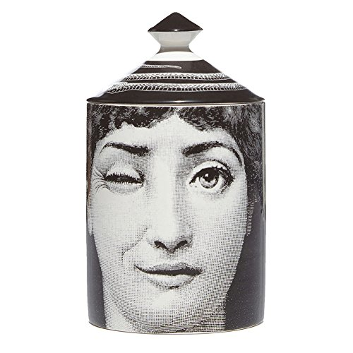 Fornasetti SILENZIO Candle - 3-92 CAN300SI by Fornasetti