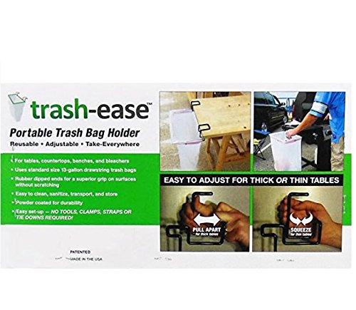 Trash-Ease 13 Gallon Portable Trash Bag Holder