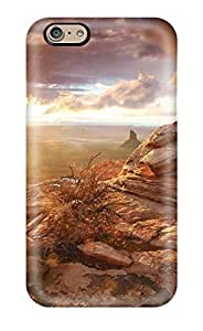 For Iphone 6 Premium Tpu Case Cover Rock Earth Protective Case