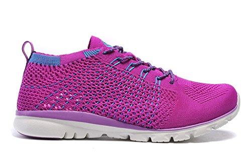 Senximaoyi® Linan Löparskor Sportskor Lätt Andas Sneakers Lila