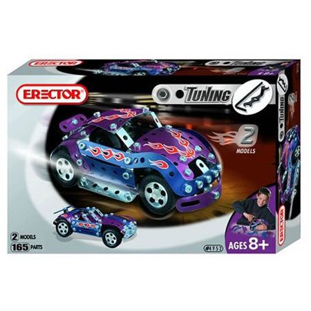 Erector Tuning Race Car, 165 Parts