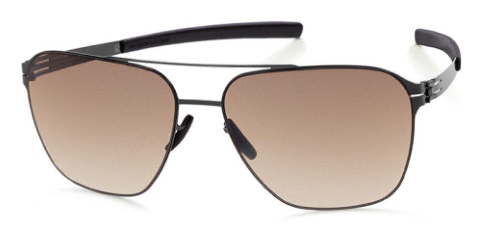 Sunglasses Ic Berlin Jonathan I. Gun Metal Brown Sand 100% Authentic 9weEd