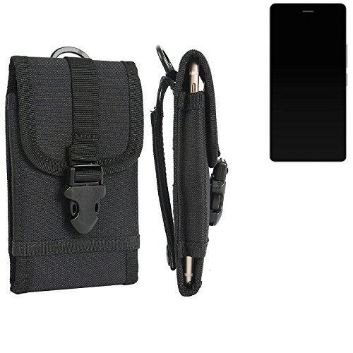 bolsa del cinturón / funda para Archos Diamond S, negro   caja del teléfono cubierta protectora bolso - K-S-Trade (TM)