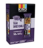 Cheap KIND Sweet and Spicy Bars, Thai Sweet Chili, Gluten Free, 10g Plant Protein, 1.6oz, 12 Count