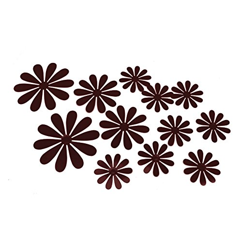 orange and brown wall decals - 8