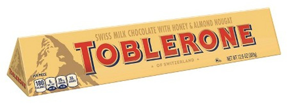 Toblerone Milk Chocolate 12.6 Ounce