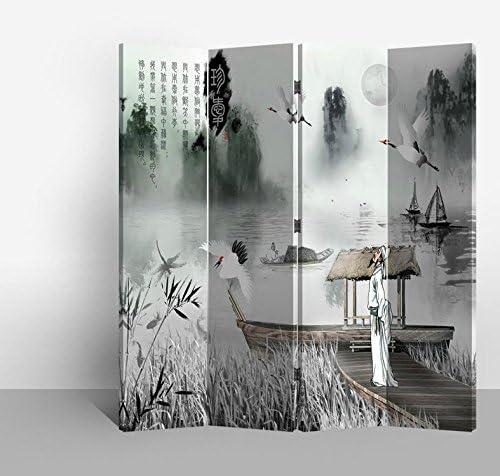 Fine Asianliving Divisor de habitación-Tabiques-Mampara de ducha ...