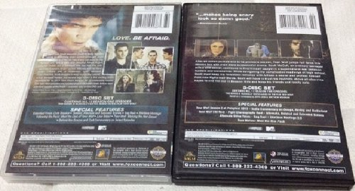 TEEN WOLF Seasons 1 and 2 DVD Sets (BOTH TOGETHER) MTV Tyler Posey by
