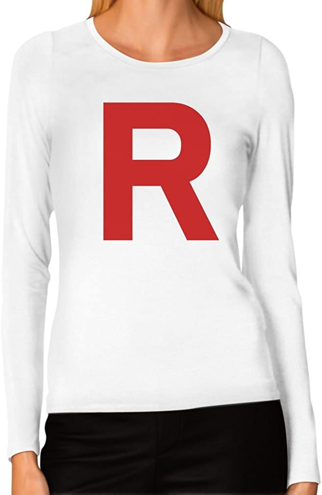 TeeStars Women's - Rocket Inspired Long Sleeve T-Shirt
