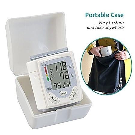 Tensiómetros de muñeca - Medición completamente automática con pantalla LCD digital - 2 años de garantía: Amazon.es: Salud y cuidado personal