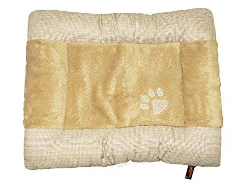 Cheeko Emotion Tartan Pad Cushion, 105 cm, Beige