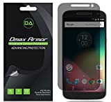 [2-Pack] Dmax Armor- Motorola Moto G4 / Moto G (4th Gen) Privacy (Anti-Spy) Screen Protector Shield - Lifetime Replacements Warranty- Retail Packaging