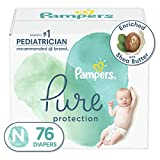 Diapers Newborn/Size 0 (<10 lb), 76 Count - Pampers