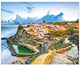 Product picture for Simply Calendar - World Travel 2019 Wall Calendar - Amazing Destinations from Around the Globe 10.5 x 18 (Open) by Trends International