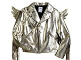 adidas JS Jeremy Scott Gold Leather Wing Jacket X29880 Size Small