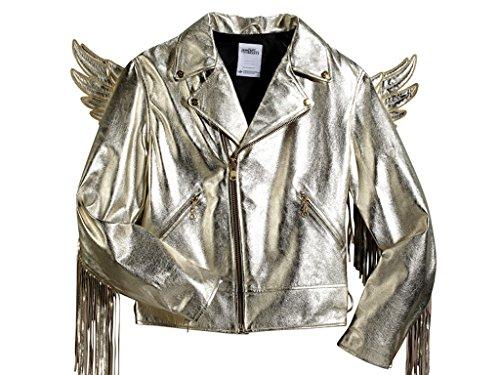 adidas JS Jeremy Scott Gold Leather Wing Jacket X29880 Size - Jeremy Scott Gold