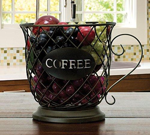 Kup Keeper Coffee & Espresso Pod Holder, Coffee Mug Storage Basket by Boston Warehouse by Boston Warehouse (Image #2)