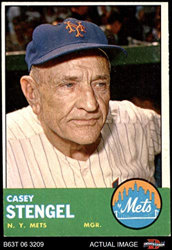 casey stengel baseball card