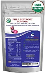 WHY USE BEETROOT?   Benefit from ingredients that offer a natural energy and endurance boost, detox, improve circulation and promote overall health and wellness. Easy to Enjoy. Add to your daily smoothie, sprinkle on your cereal or salad or j...