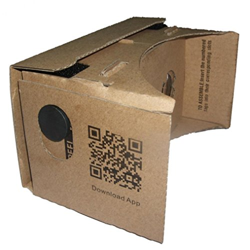 Laimeng DIY Cardboard 3D Vr Phone Virtual Reality Viewing Glasses For Google