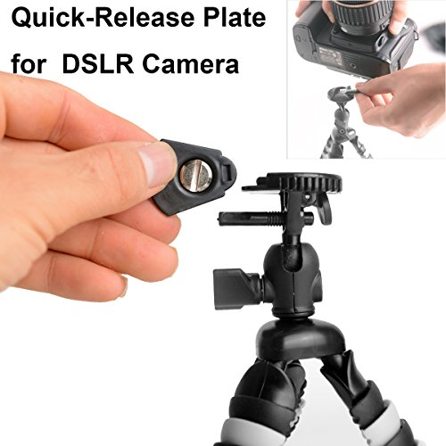 Samsung ST72 Digital Camera 16.2 Megapixels 3-Inch Screen Sony Cyber-Shot DSC-HX50 /& Sony NEX-3NL Interchangeable Lens Camera 16-50mm Power Zoom Lens, 16.1 Duragadget Bendy Travel Tripod with Flexible Legs for Panasonic Lumix LZ20 Black Samsung NX300