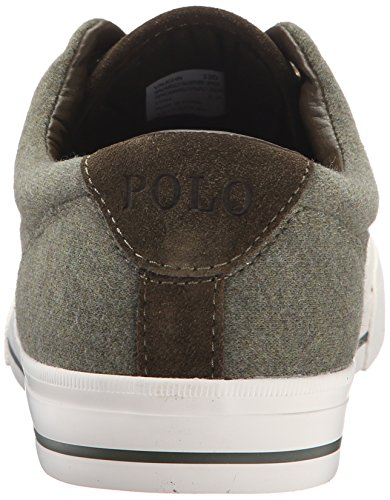 Polo Ralph Lauren Heren Vaughn Fleece Fashion Sneaker Mosheather