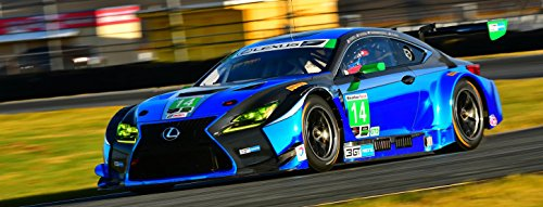 2017 Lexus Rcf Gt3 Poster Racing Le Mans Alms Tudor Rolex Imsa Large Hd