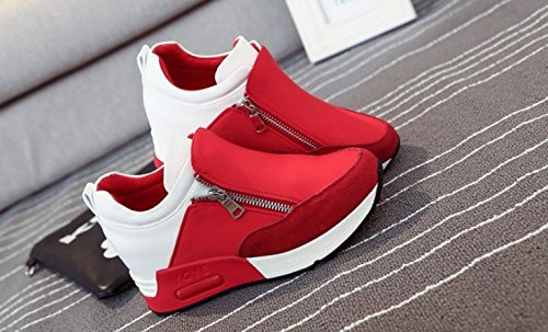 KHSKX-Thick Bottom Sports Casual Shoes Comfortable Agam Shoes Women'S Shoes Single Shoe Korean Plate Set Foot Laziness Thirty-eight V016Aq