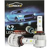 99 integra led head light kit - R2 CSP Seoul 9005 8000LM LED Headlight Conversion Kit, High beam headlamp, Low beam headlights, Fog light, HID or Halogen Head light Replacement, 6500K Xenon White, 1 Pair- 1 Year Warranty