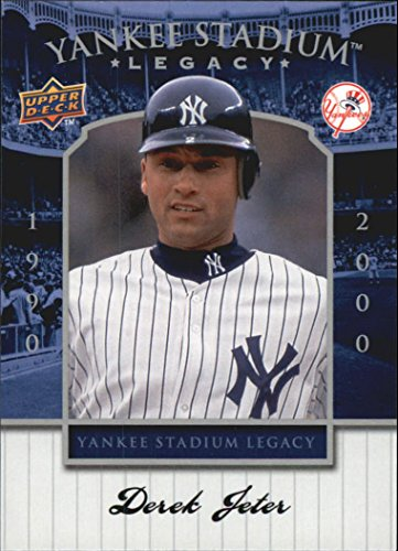2008 Upper Deck Yankee Stadium Legacy Collection # 84 Derek Jeter - New York Yankees - Limited Edition MLB Baseball Trading Card - Fleer Limited Edition Baseball Card
