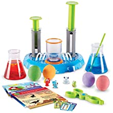 Learning Resources Beaker Creatures Deluxe Liquid Reactor Super Lab, 21Piece Set with 4 Creatures, Stem Certified Science Toy, Ages 5+