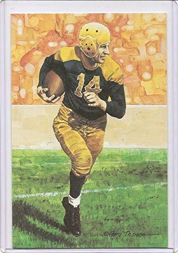 Don Hutson Goal Line Art Card Green Bay Packers Series Three - 1991