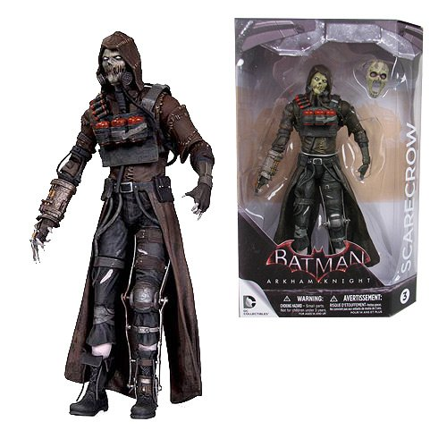 Batman Arkham Knight Scarecrow Action Figure]()