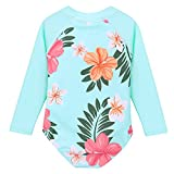 HUANQIUE Baby/Toddler Girl Swimsuit Rashguard