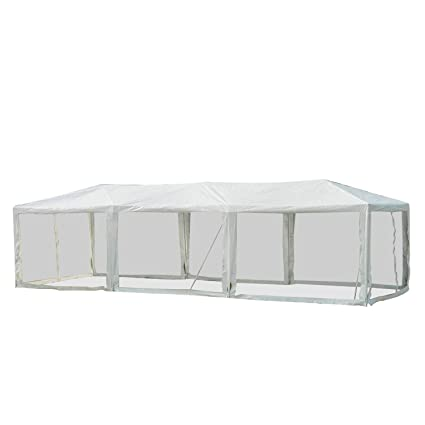 Amazon.com: Outsunny - Toldo para carpa con paredes ...