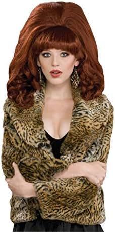 Forum Novelties Women's Big Red Costume Wig