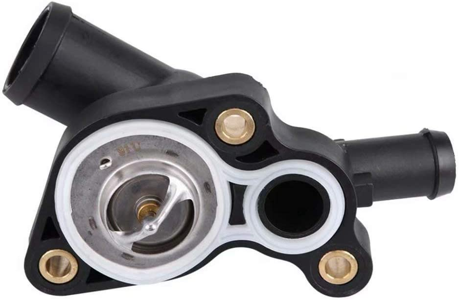 Iycorish Engine Coolant Thermostat /& Housing Kit 11537512733 11537512734 for for Cooper R52 R53 1.6L 2002 2003 2004 2005-07 2008