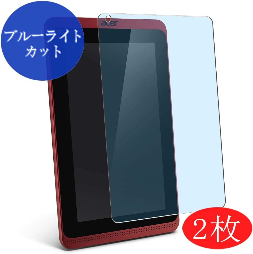 "【2 Pack】 Synvy Anti Blue Light Screen Protector for Acer Iconia Tab B1-721 7"" Anti Glare Screen Film Protective Protectors [Not Tempered Glass]"