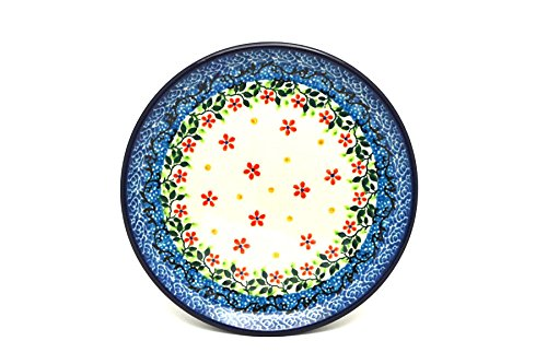Polish Pottery Plate - Bread & Butter (6 1/4'') - Cherry Jubilee