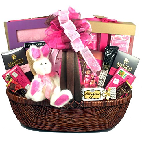 (Glorious Chocolate Bath and Body Spa Gift Basket for Women or Teen Girl)