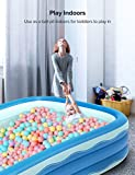 Sable Inflatable Pool, 118 x 72.5 x 20in